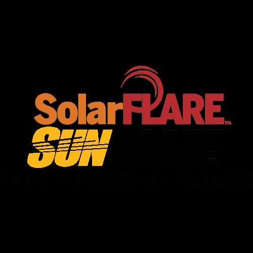 Solar Flare Sun Blaze logo